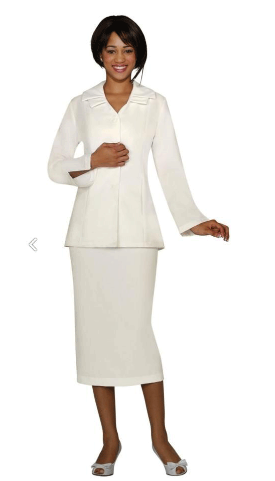 GMI Usher Suit 12777-Ivory - Church Suits For Less