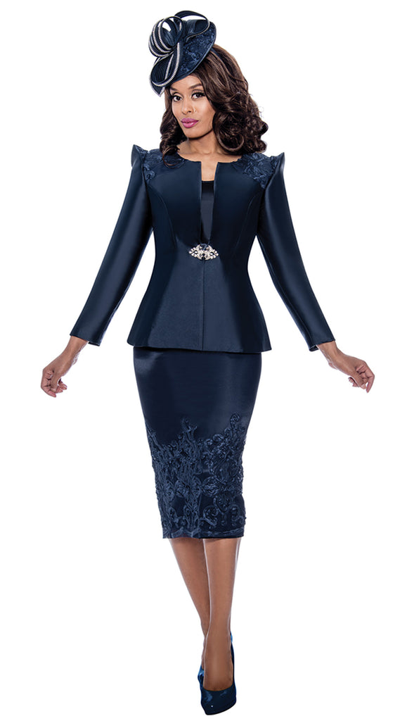 GMI Suit 8153-Navy - Church Suits For Less