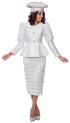 GMI Suit 8172-White - Church Suits For Less