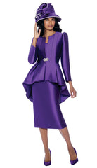 GMI Suit 8203C-Purple - Church Suits For Less