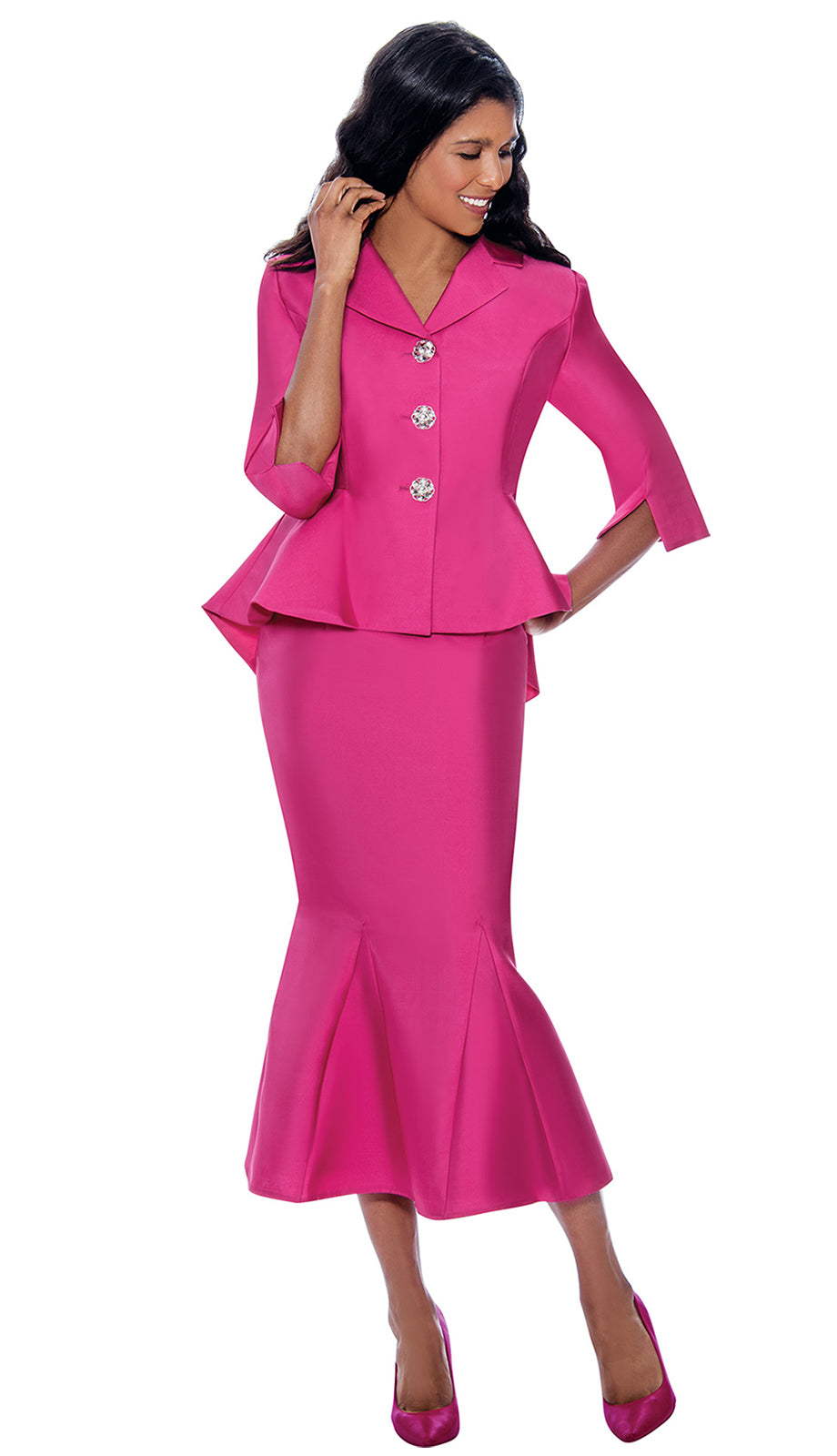 GMI Suit 8342-Fuchsia - Church Suits For Less