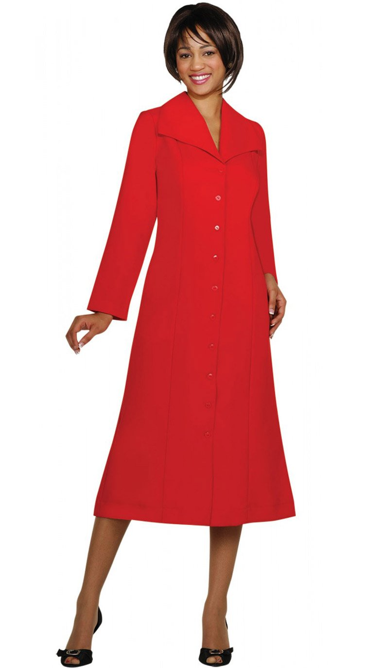 GMI Usher Suit-11573-Red - Church Suits For Less