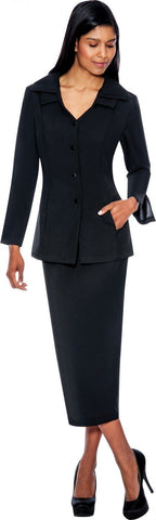GMI Usher Suit 12777C-Black
