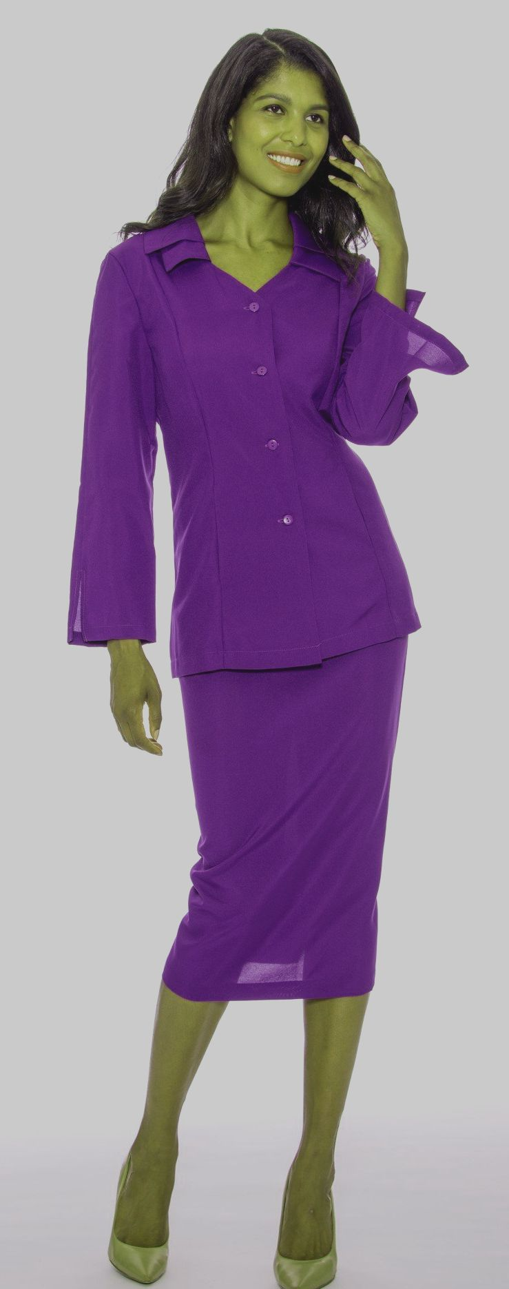 GMI Usher Suit 12777-Purple - Church Suits For Less
