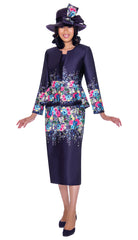 GMI Suit G7483C-Purple - Church Suits For Less