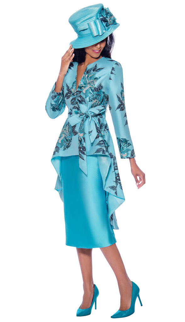 GMI Suit 7962-Blue - Church Suits For Less