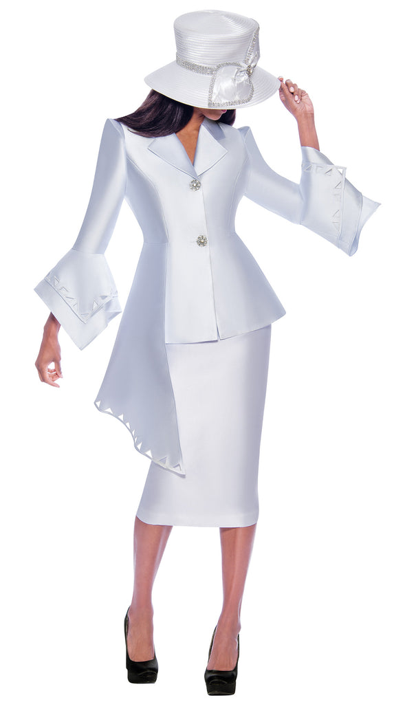 GMI Suit 7972-White - Church Suits For Less