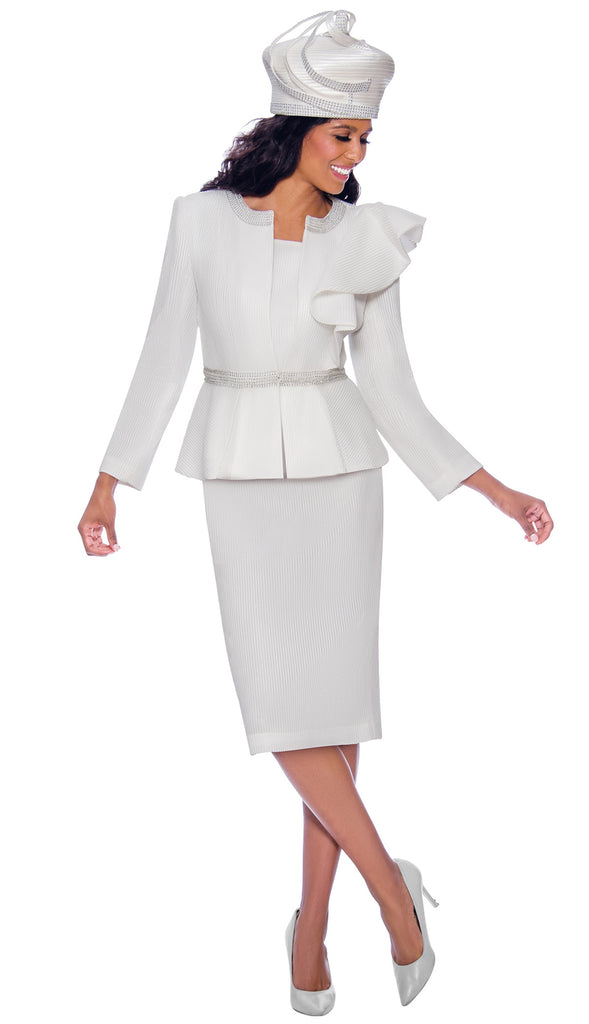 GMI Suit 7992-White - Church Suits For Less