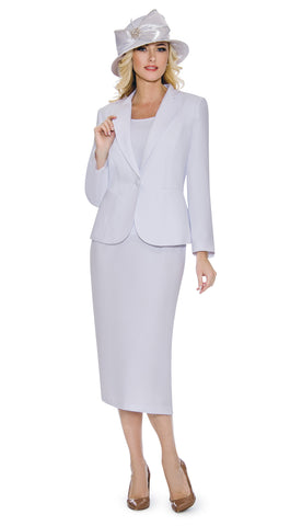 Giovanna Usher Suit 0707-White