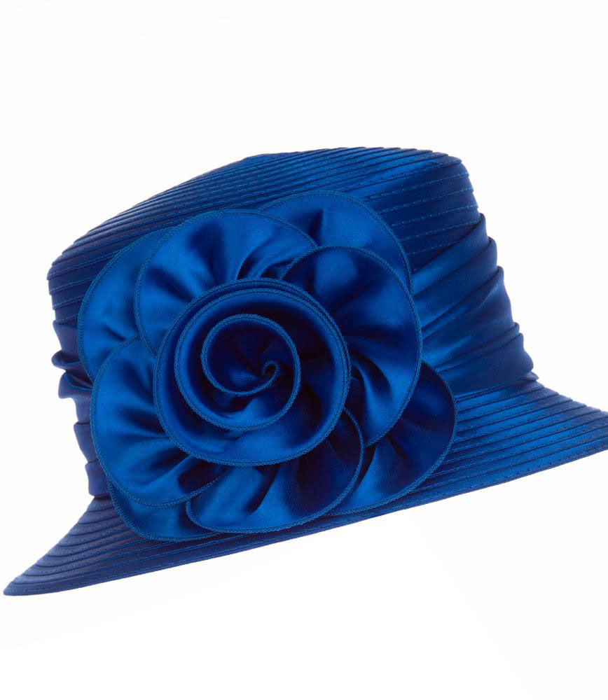 Giovanna Hat H0929-Royal Blue - Church Suits For Less