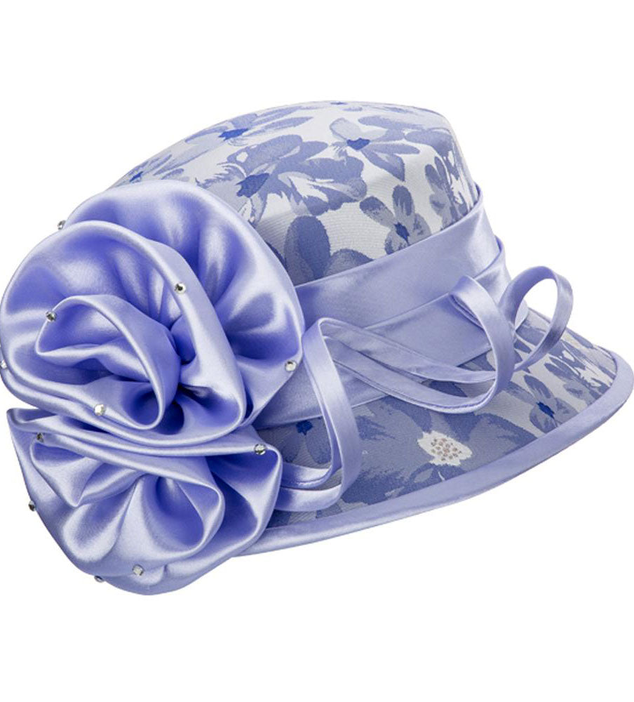 Giovanna Hat H0936-Bluebell - Church Suits For Less