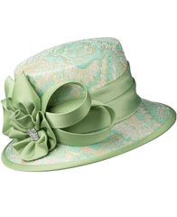 Giovanna Hat G1102-Mint - Church Suits For Less
