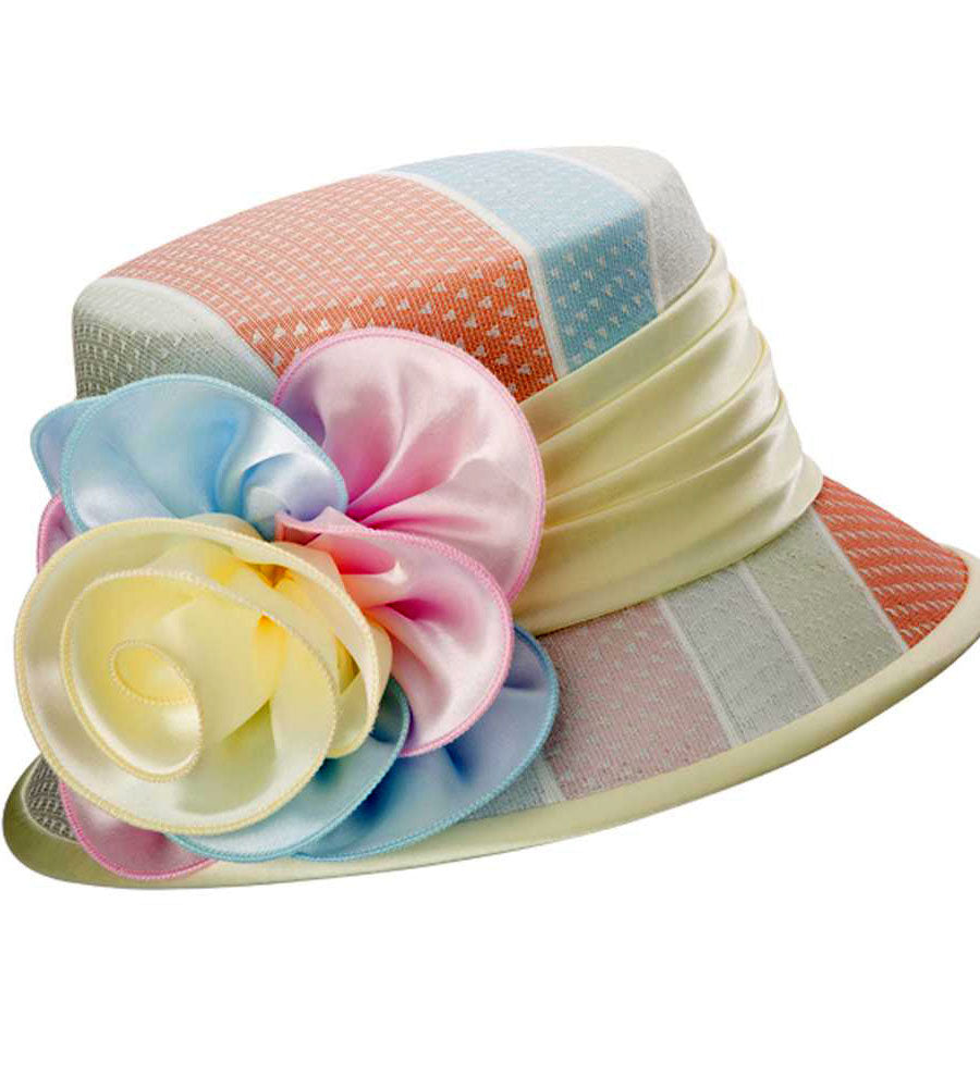 Giovanna Hat HH1141-Multi - Church Suits For Less