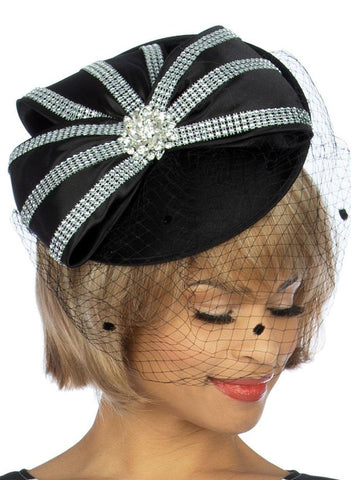 Giovanna Hat HM972-Black