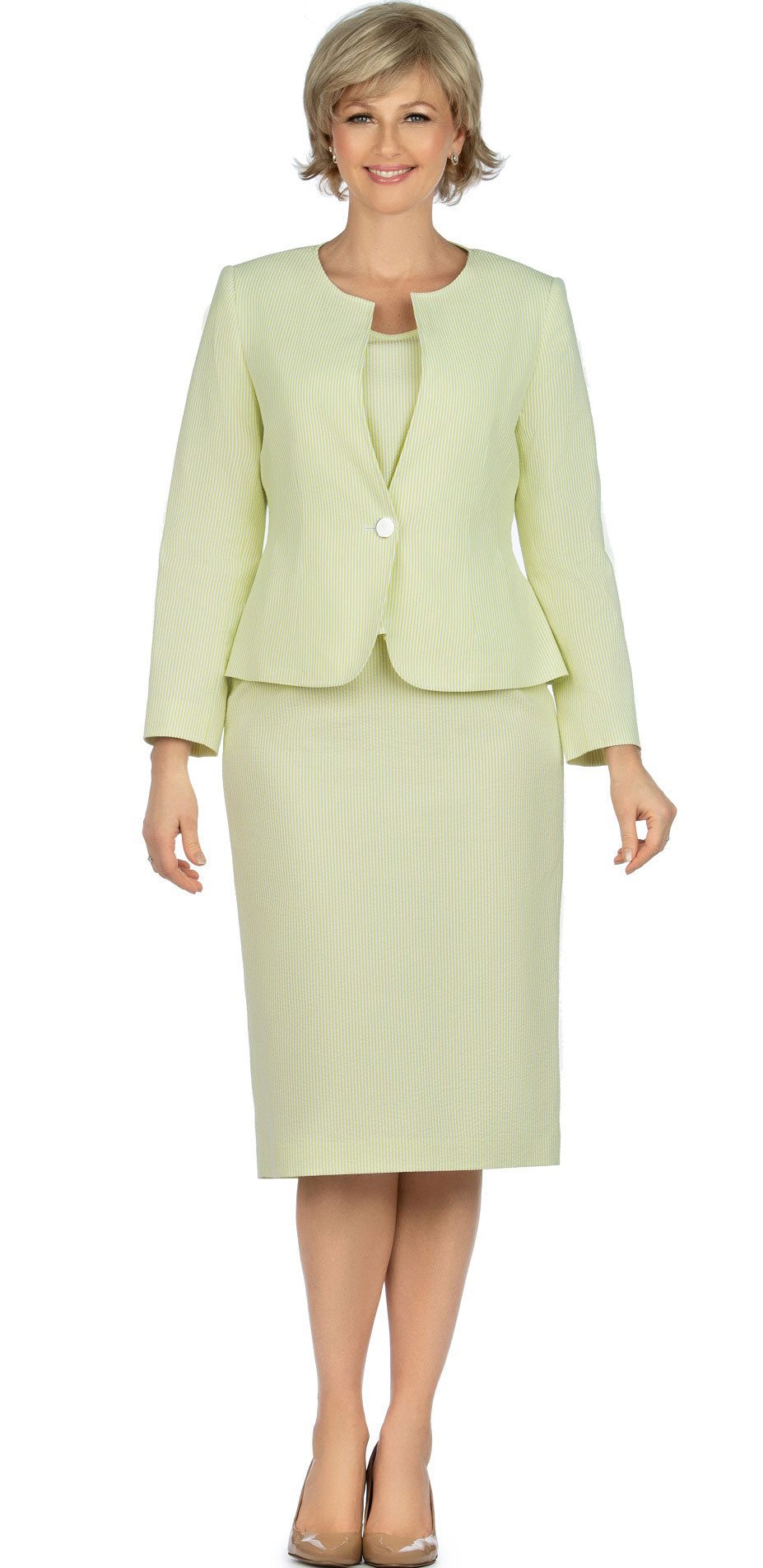 Giovanna Suit S0713-Pistachio - Church Suits For Less