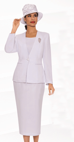Giovanna Usher Suit 0825-White