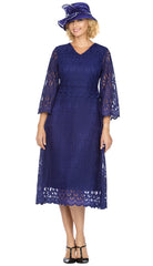 Giovanna Dress D1520-Purple - Church Suits For Less