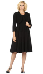 Giovanna Dress D1540-Black - Church Suits For Less