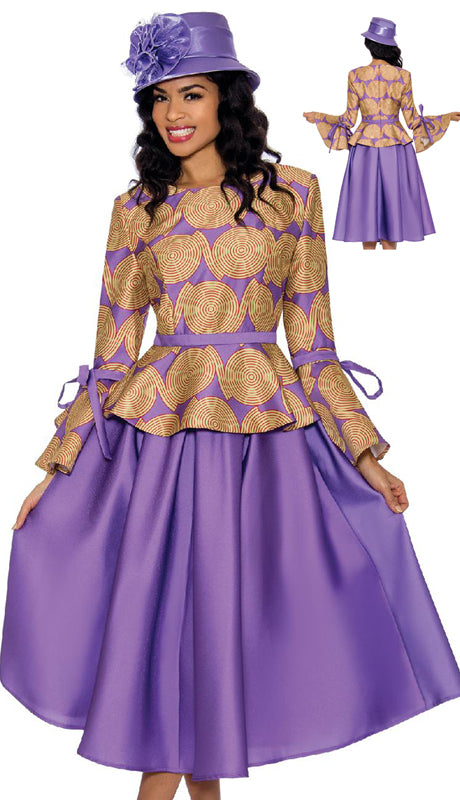 Giovanna Suit 0928C-Violet - Church Suits For Less