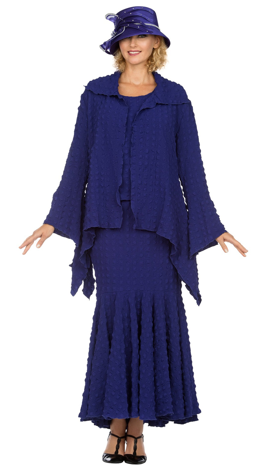 Giovanna Suit 0940-Purple - Church Suits For Less