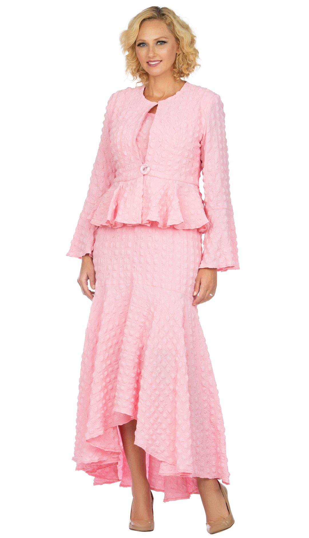 Giovanna Suit 0943-Pink - Church Suits For Less