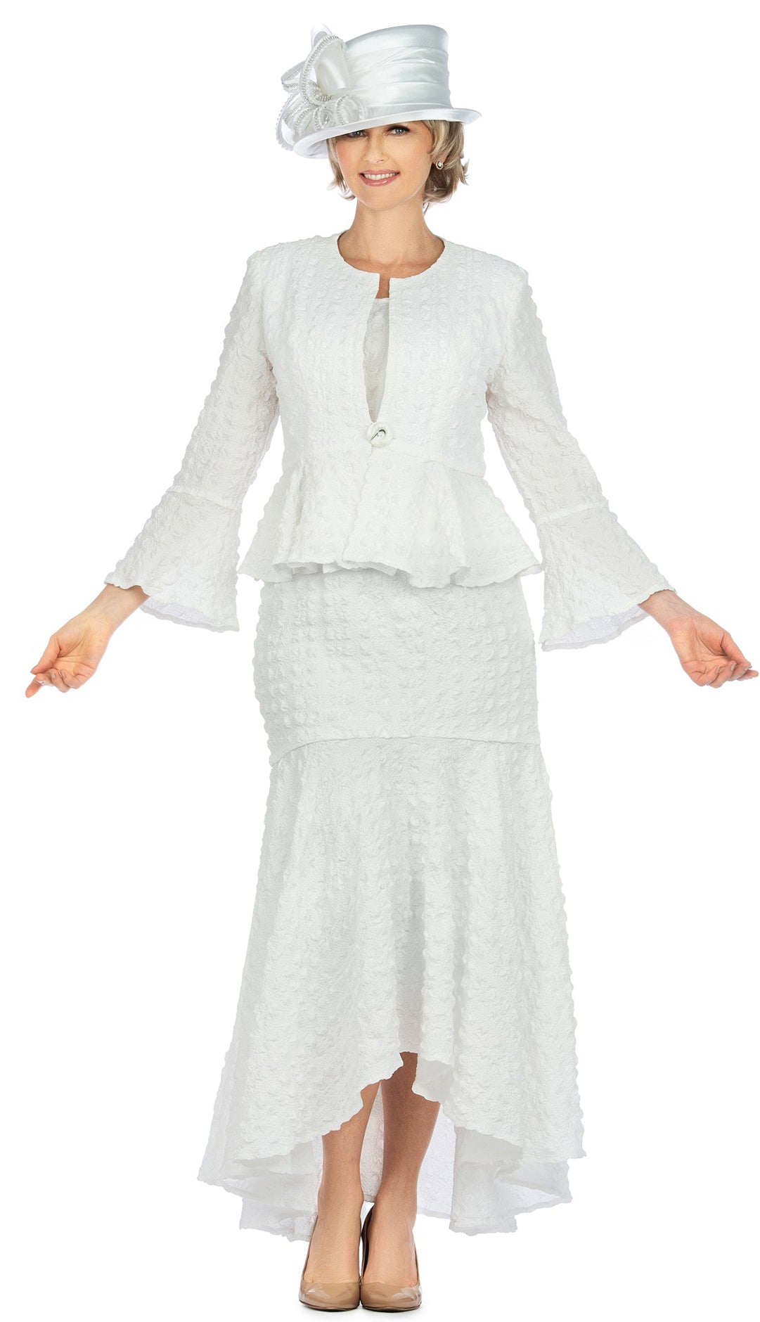Giovanna Suit 0943-White - Church Suits For Less