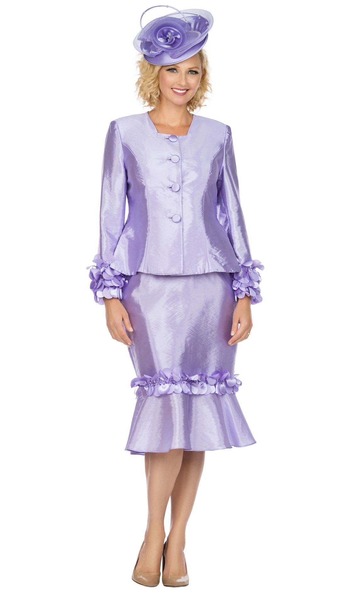Giovanna Suit G1140-Lavender - Church Suits For Less