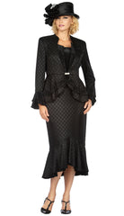 Giovanna Suit G1142-Black - Church Suits For Less