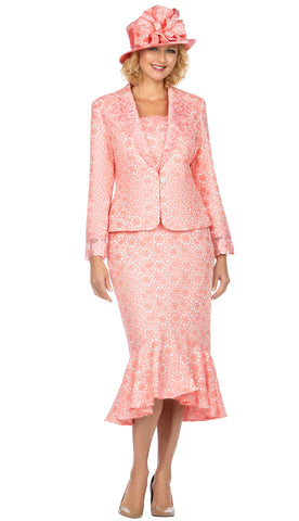 Giovanna Suit G1143-Coral