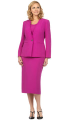 Giovanna Usher Suit S0722-Amathyst - Church Suits For Less