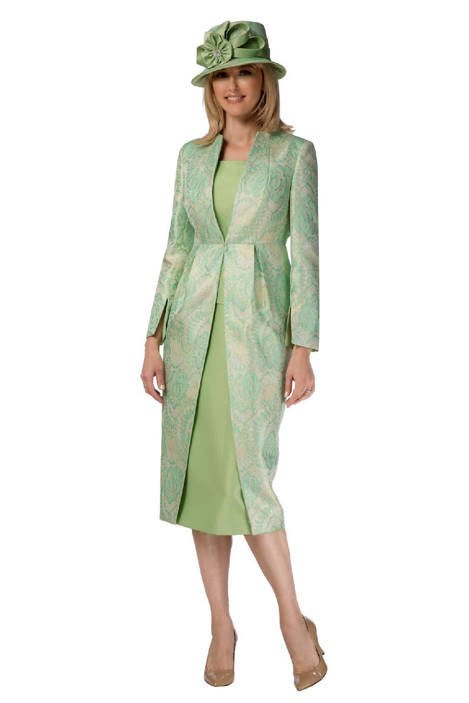 Giovanna Suit G1102-Mint - Church Suits For Less