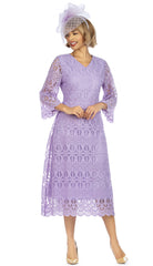 Giovanna Dress D1520-Lilac - Church Suits For Less