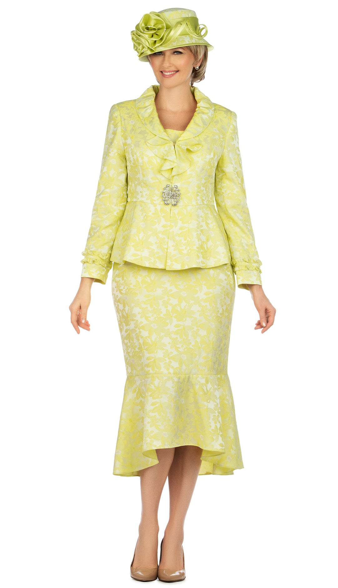 Giovanna Suit 0936-Lemon - Church Suits For Less