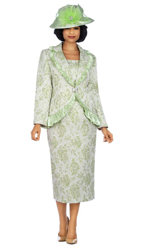 Giovanna Suit 0937-Lime