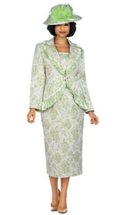 Giovanna Suit 0937-Lime - Church Suits For Less