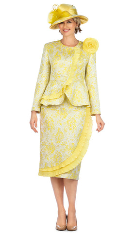 Giovanna Suit 0938-Yellow