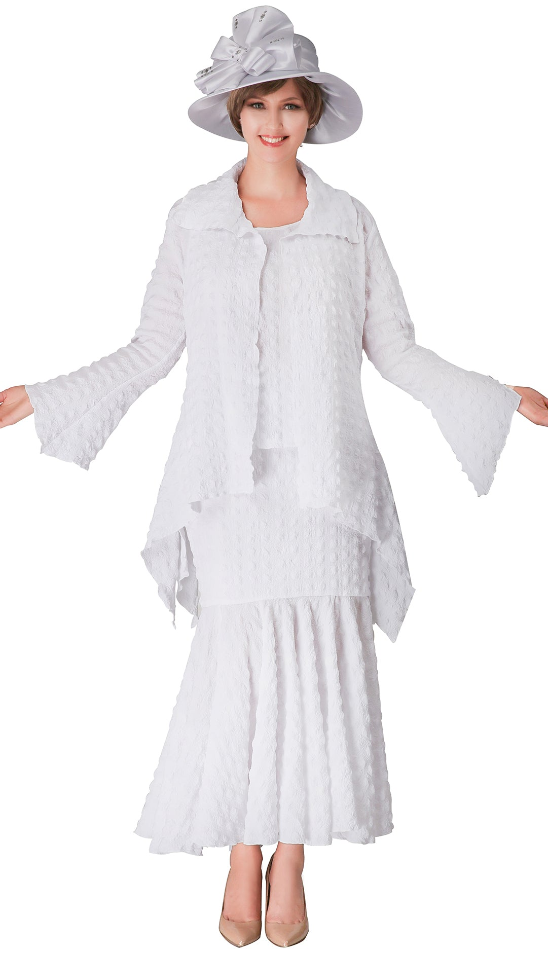 Giovanna Suit 0940-White - Church Suits For Less