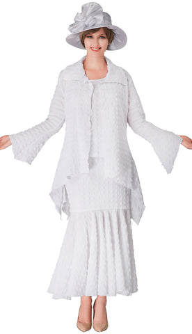 Giovanna Suit 0940-White