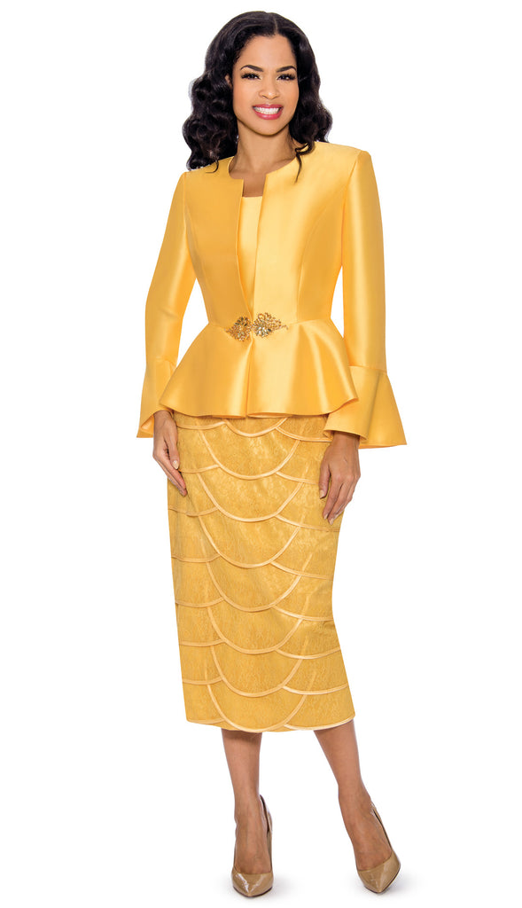 Giovanna Suit G1060-Yellow - Church Suits For Less