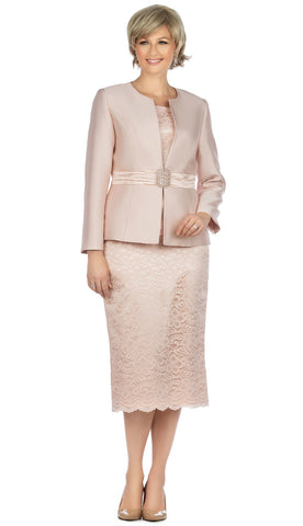 Giovanna Church Suit G1083-Light Pink