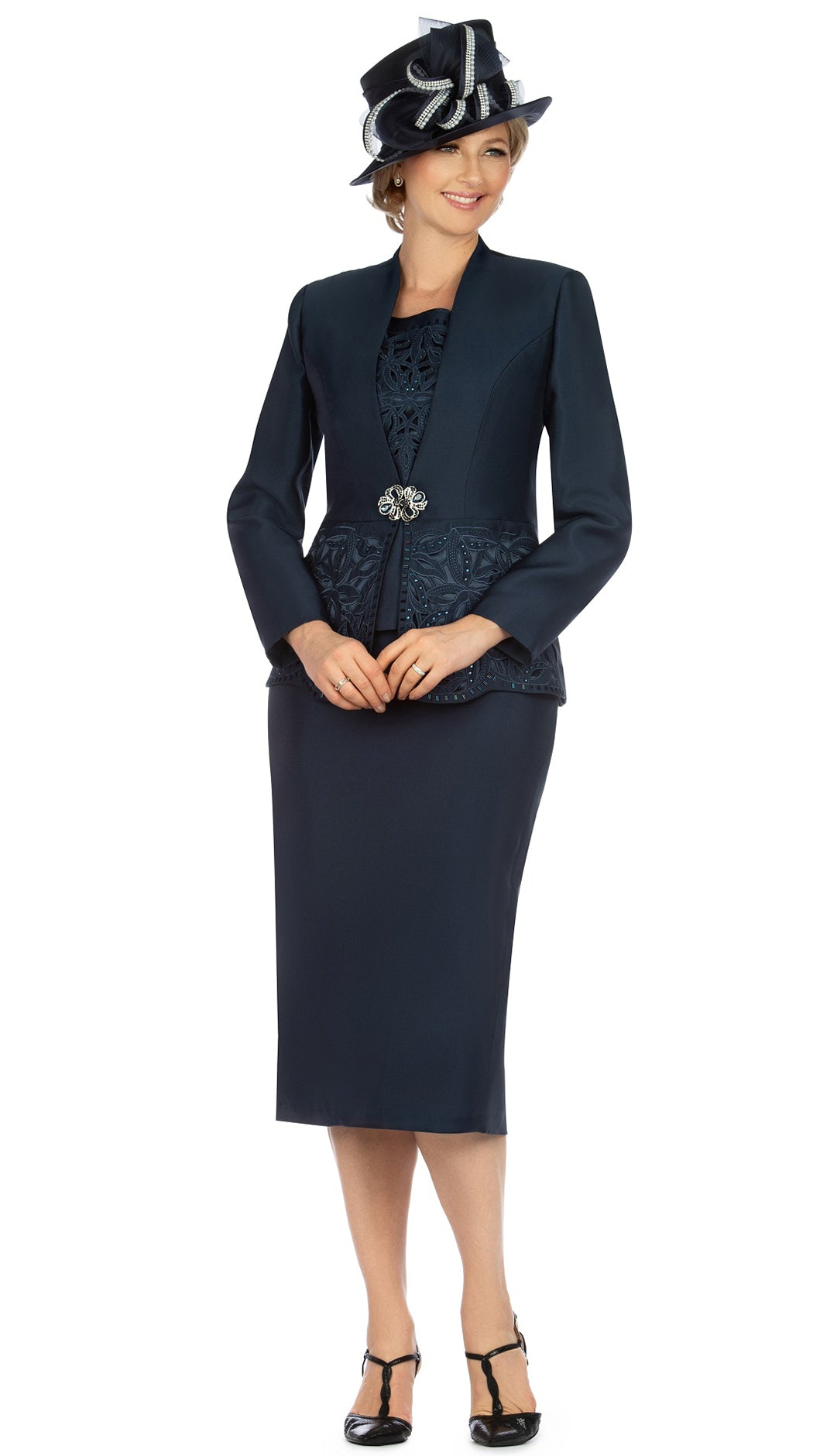Giovanna Suit G1088-Navy - Church Suits For Less