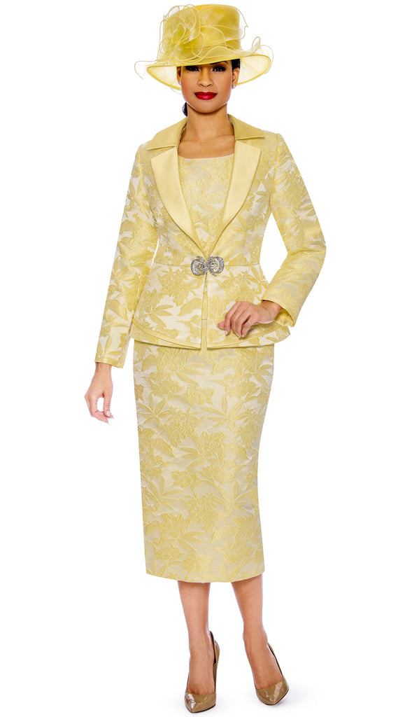 Giovanna Suit G1096-Yellow - Church Suits For Less