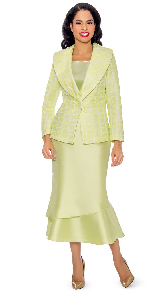 Giovanna Suit G1099-Lime - Church Suits For Less