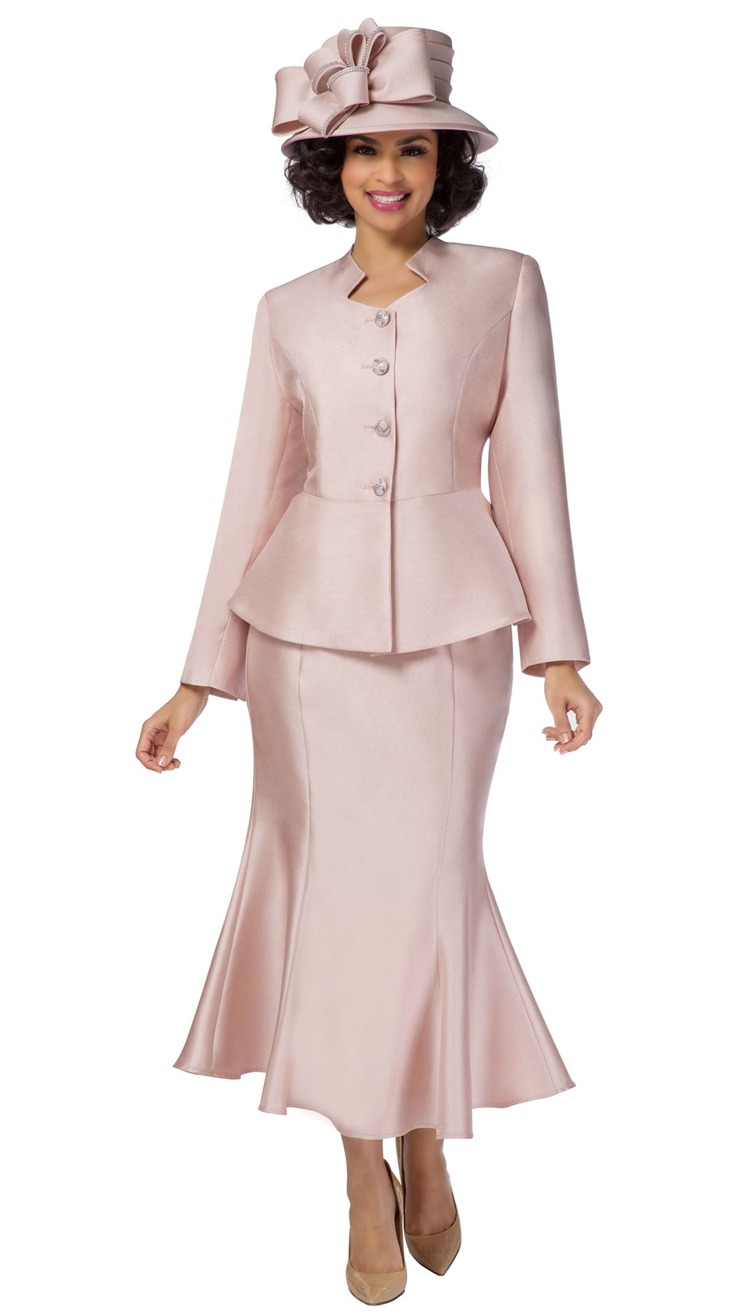 Giovanna Suit G1116-Pale Pink - Church Suits For Less