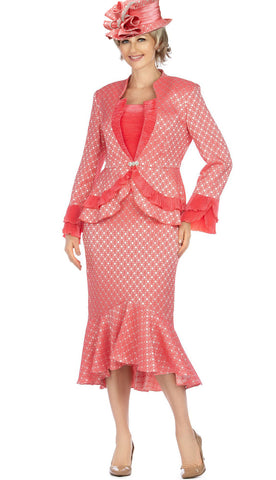 Giovanna Suit G1142-Hot Pink - Church Suits For Less