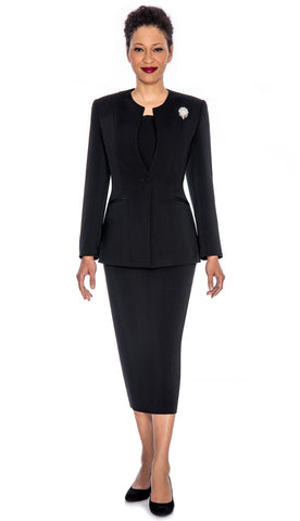 Giovanna Usher Suit 0708-Black