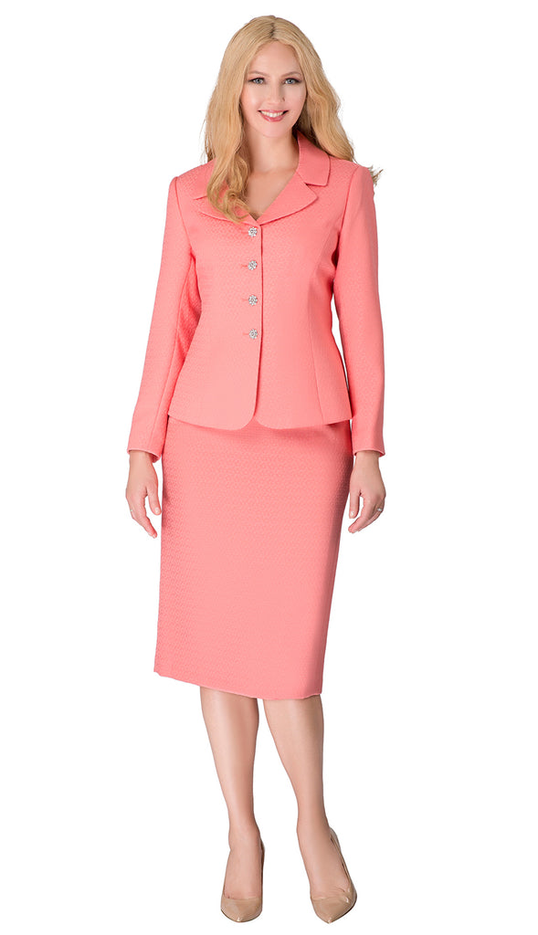Giovanna Usher Suit S0720-Coral - Church Suits For Less