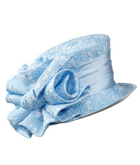 Giovanna Hat HG1143-Blue - Church Suits For Less