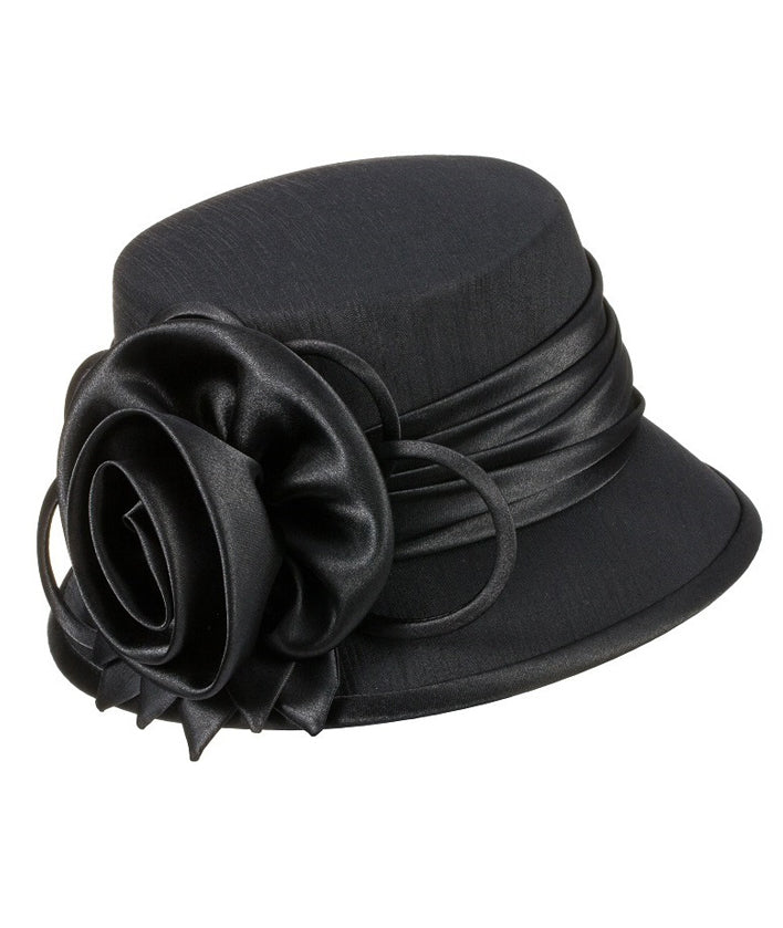 Giovanna Hat HM935-Black - Church Suits For Less