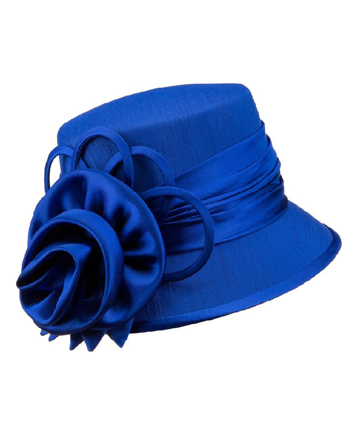 Giovanna Hat HM935-Royal Blue - Church Suits For Less